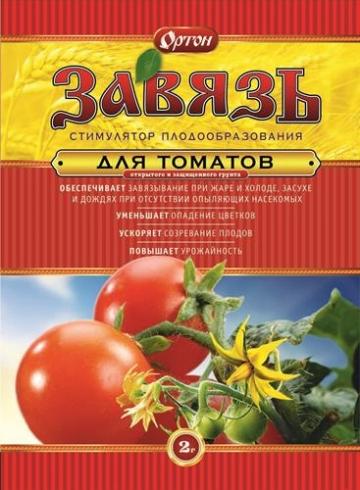 Завязь для томатов