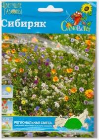 Газон Сибиряк цветущий